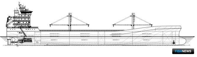 Приемно-транспортный рефрижератор проекта ПТР145 «Север»