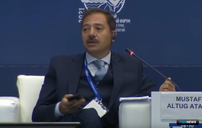 Гендиректор по рыболовству и аквакультуре Министерства сельского и лесного хозяйства Турции Мустафа Алтуг АТАЛАЙ