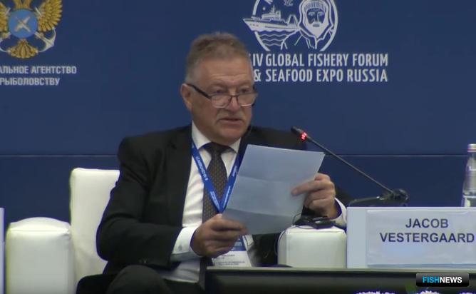 Министр рыболовства Фарерских островов Якоб ВЕСТЕРГОРД