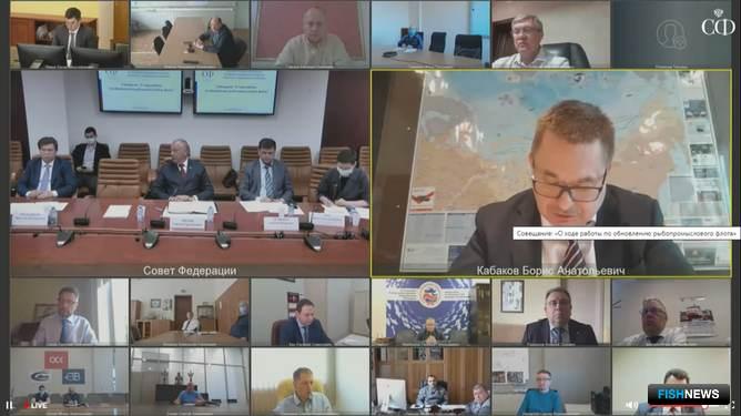 Многие специалисты приняли участие в совещании по видеосвязи