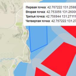 Карта-схема выставленного на торги участка