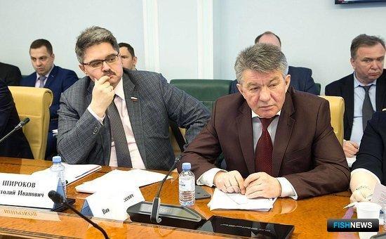 Предстоящая лососевая путина обсуждалась на совещании в Совете Федерации. Фото пресс-службы СФ