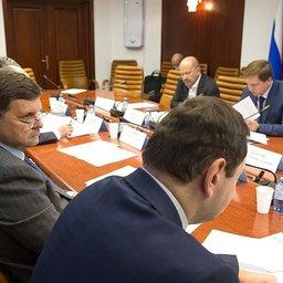 Заседание комитета Совета Федерации по аграрно-продовольственной политике и природопользованию. Фото пресс-службы СФ