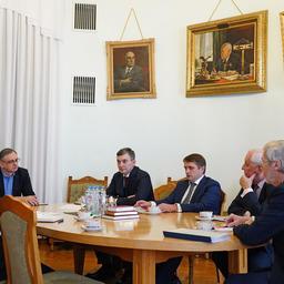 В Москве состоялась встреча руководства Российской академии наук и Федерального агентства по рыболовству. Фото пресс-службы ВНИРО