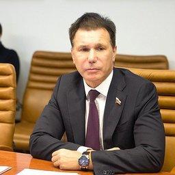Член Совета Федерации от Карелии Игорь ЗУБАРЕВ. Фото пресс-службы СФ